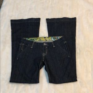 Miss Me bell bottom jeans 27